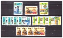Antillen / Antilles 1999 X5 Music Triangle Used - Curacao, Netherlands Antilles, Aruba