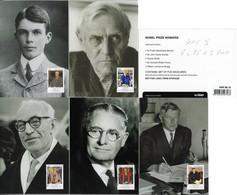 Australia 2012 Complete Series 5 Postal Stationery Maximum Card Nobel Prize Laureates Winners - Premio Nobel