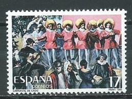 Espagne YT N°2451 Le Carnaval De Cadix Neuf ** - 1981-90 Nuovi