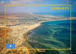 Somalia Kismayo Aerial View New Postcard - Somalia