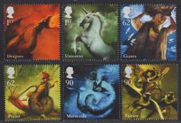 Großbritannien 2009 - Mi-Nr. 2776-2781 ** - MNH - Fabelwesen - Ungebraucht