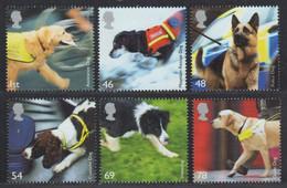 Großbritannien 2008 - Mi-Nr. 2606-2611 ** - MNH - Hunde / Dogs - Ungebraucht