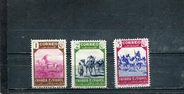 Sahara Espagnol 1943 Yt 61-63 * - Sahara Spagnolo