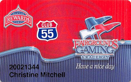 Fair Grounds Race Course - New Orleans LA - Slot Card - Casinokaarten
