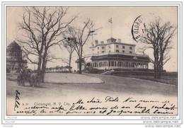 Claremont - New York City  - (animée - Attelage Cheval - Oblitération De 1908) - Non Classificati