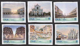 ITALIA 2021 Turistica L'Italia Riparte Serie Completa 6 Valori Usato - 2011-...: Used