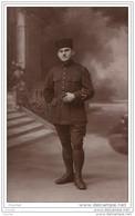 MILITARIA - Carte Photo Militaire  Zouave - Guerre 14-18 - Photographie LECA à ALGER - Algiers