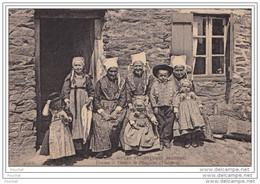 29) COUTUMES MOEURS ET COSTUMES BRETONS -  PLOUGASTEL (FINISTÈRE)  FEMMES ET ENFANTS - Plougastel-Daoulas