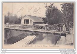 93) Sévran (Seine Et Oise) Le  Canal De L ´ Ourcq  à  Freinville Sévran - Sevran