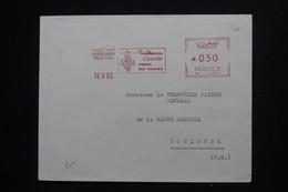 MAROC - Affranchissement Mécanique De Casablanca Sur Enveloppe En 1963 Pour La France  - L 101656 - Morocco (1956-...)