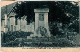 61the 541 CPA - TOURVILLE LA CAMPAGNE - LE MONUMENT - Sonstige Gemeinden