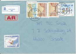 Croatia Registered Cover Sisak 15-9-1997 Topic Stamps - Croatie