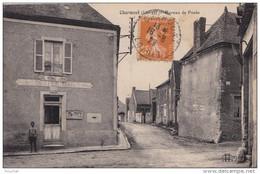 J17- 45) CHARMONT (LOIRET)  BUREAU DE POSTE - (ANIMÉE) - Other Municipalities