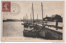 K19-14) COURSEULLES SUR MER (CALVADOS) L'AVANT PORT - Courseulles-sur-Mer
