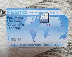 Scheda Telefonica SIP FESTO - Collezioni