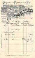 18401  32-0901   1925 VERITABLES FROMAGES DE BRIE MAISON PENELLE GOGA A AVON - M. MILOU A TRIE SUR BAISE - 1900 – 1949
