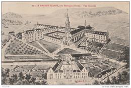 OP11- 61) LA GRANDE TRAPPE , PRES MORTAGNE (ORNE)  VUE GENERALE  - (2 SCANS) - Mortagne Au Perche
