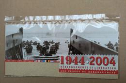 FRANCE De 1944 2004 SOUVENIR PHILATELIQUE DEBARQUEMENTS  Neuf Sous Blister PLAGES - Foglietti Commemorativi
