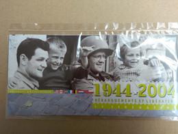 FRANCE De 1944 2004 SOUVENIR PHILATELIQUE DEBARQUEMENTS  LIBERATION Neuf Sous Blister Les Grands Hommes - Foglietti Commemorativi