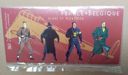 Bloc Souvenir, France-Belgique, Blake Et Mortimer, Année 2004 - Foglietti Commemorativi