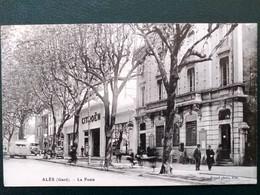30 ,alès ,la Poste Et Le Garage Citroën - Alès