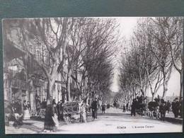 30 ,alès ,l'avenue Carnot En 1928 - Alès