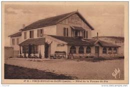 A 16 - 40)  VIEUX BOUCAU  LES BAINS (LANDES) HÔTEL DE LA POMME D'OR   - (2 SCANS) - Vieux Boucau