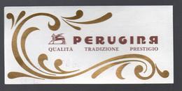 Perugia (Italie) étiquette   PERUGINA  (PPP30453) - Publicidad