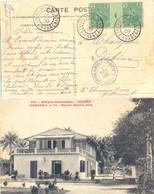 GUINEE-FRANÇAISE MAMOU TàD 29 NOV 09 – PAIRE BERGER PULAS 5 C. MILLÉSIME 4 YT N° 21 - Covers & Documents