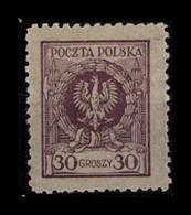 POLEN 1924 Nr 209b Postfrisch (404809) - Zonder Classificatie