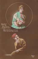 R6- COUPLE - REVE DE ZOUAVE - QUE LE BAISER QUE JE T'ENVOIE - METTE TON PETIT COEUR EN JOIE - (2 SCANS) - Couples