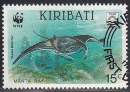 KIRIBATI    SCOTT NO.562   USED   YEAR 1991 - Kiribati (1979-...)