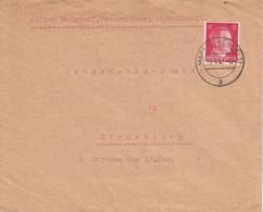 Env Affr Michel 827  Obl MARCKOLSHEIM (ELS) Du 29.9.42 Adressée à Strassburg - Alsace Lorraine