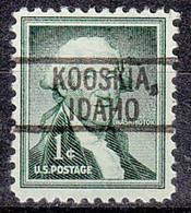 USA Precancel Vorausentwertung Preo, Locals Idaho, Kooskia 742 - Precancels