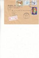 Belgique - Lettre Recom Avec Accusé De Réception AR De 1984 - Oblit Veurne - Lettres & Documents
