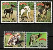Korea N. 1989 Corea / Mammals Dogs MNH Perros Hunde Chiens / Ht50  18-11 - Dogs