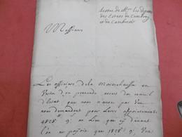 CAMBRAI 5 Mars 1711. Requete Députés De Cambray Et Cambresis Au Conseil D'Etat. Augmentation Exorbitante Appointements - Manuscripts
