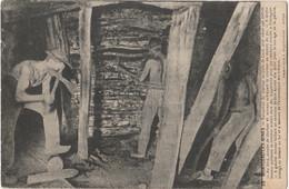 U21- 71) MONTCEAU LES MINES - EXTRACTION DU CHARBON AU PUITS DE LUCY - (ANIMEE -2 SCANS) - Montceau Les Mines