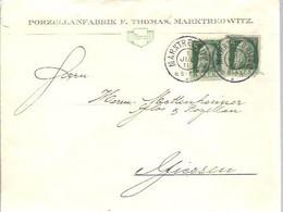 LETTER  1911  MARKTREDWITZ - Bayern