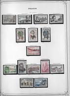France Collection Vendue Page Par Page - Oblitérés / Neufs * Avec Charnière - TB - Oblitérés
