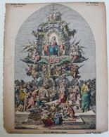 EPINAL - DER CHRISTBAUM  45 X 33 CM     VOIR SCANS   DEUTSHE BILDERBOGEN - Imágenes Religiosas