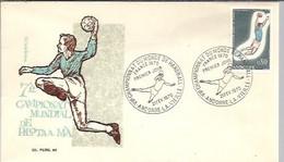 FDC  1970   ANDORRE FR. - Balonmano