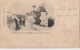 T3-24) CHATEAU DE LA  HIERSE PRES BRANTOME (DORDOGNE)  - ( OBLITERATION DE 1901 - 2 SCANS ) - Brantome