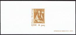 2005 Gravure Croix-Rouge  Sur Papier Velin  - Vierge à L'enfant - Documents Of Postal Services