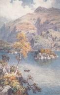 Postcard Ellen's Isle Loch Katrine The Trossachs Tuck Oilette No 7807 [ Wimbush ] My Ref B14395 - Wimbush