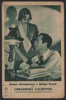 Original 1932 Lovers Corageous Cinema / Movie Advt Brochure - Robert Montgomery, Madge Evans. - Cinema Advertisement