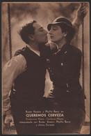 Original 1933 What! No Beer? Cinema / Movie Advt Brochure - Buster Keaton, Phyllis Barry, Jimmy Durante. - Cinema Advertisement