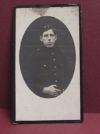 DOODSPRENTJE  Souvenier Militair Fernand BATARD  Décédé A Hospital De Amersfoort Le 1916 A L'age De 25 Ans - Obituary Notices