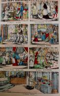 PELLERIN  LES SEPT SACREMENTS  59 X 38  Cm - Voir Images  Les Impressions Sont Protégées Dans Un Passe-partou - Imágenes Religiosas