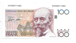 *belguim  100 Franc 1982-94 Xf  69f - 100 Franchi